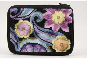 Coin Purse - Paisley - Needlepoint Kit