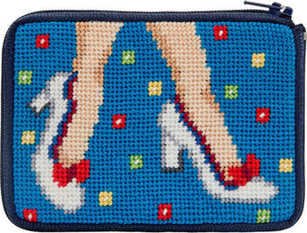 Coin Purse - Mod Maggie - Needlepoint Kit
