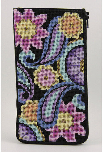 Eyeglass Case - Paisley - Needlepoint Kit