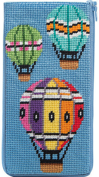 Eyeglass Case - Balloons in Flight - Needlepoint Kit