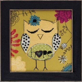 Hope (Amylee Weeks) - Beaded Cross Stitch Kit
