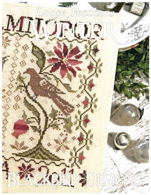 Winter - Loose Feathers - Cross Stitch Pattern