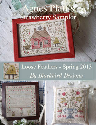 Loose Feathers - Agnes Platt's Strawberry Sampler