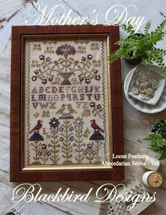 Loose Feathers - Mother's Day - Cross Stitch Pattern
