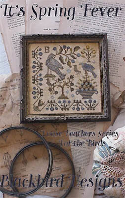 It's Spring Fever - Loose Feathers - Cross Stitch Pattern