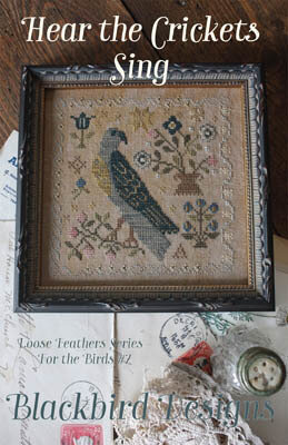 Hear the Crickets Sing - Cross Stitch Pattern