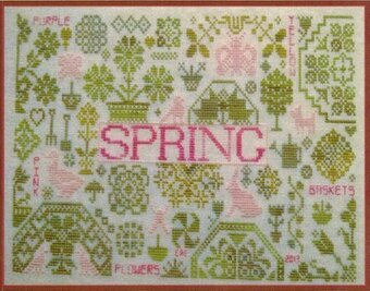 Quaker Seasons Spring - Cross Stitch Pattern