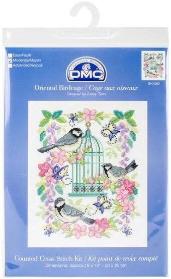 Oriental Birdcage - Cross Stitch Kit
