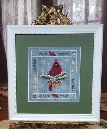 When Cardinals Appear - Cross Stitch Pattern