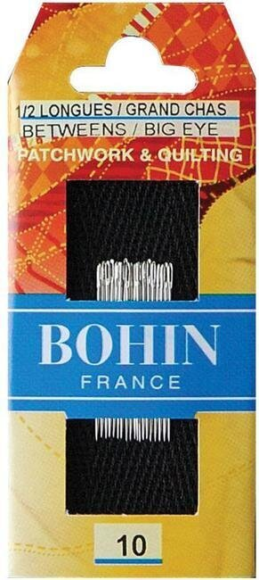 Bohin Big Eye Quilting Needles
