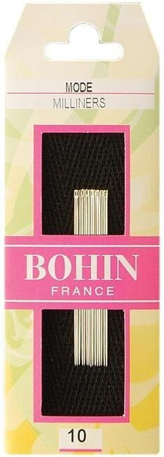Bohin Milliners Hand Needles Size 10