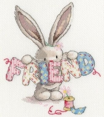 Friend - Bebunni - Cross Stitch Kit