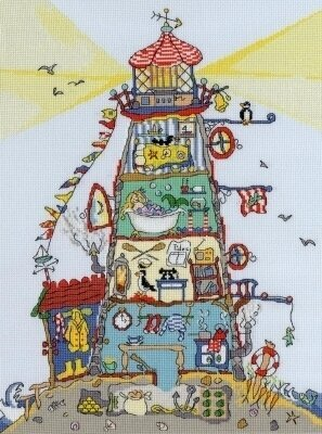 Cut Thru Lighthouse - Cross Stitch Kit