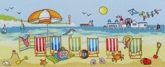 Deckchair Fun - Cross Stitch Kit