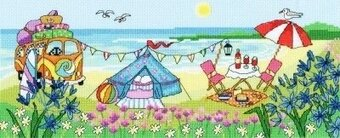 Glamping Fun - Cross Stitch Kit