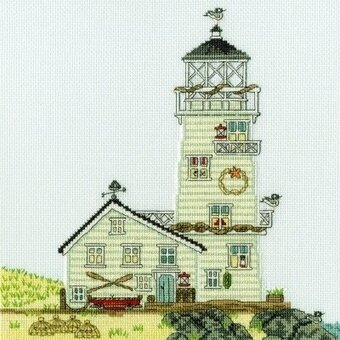 New England: The Lighthouse - Cross Stitch Kit