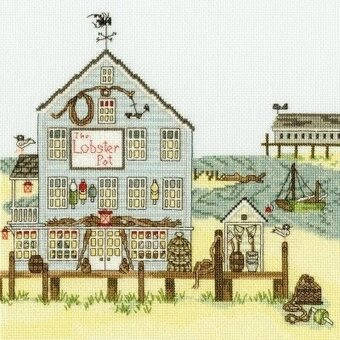 The Lobster Pot - Cross Stitch Kit