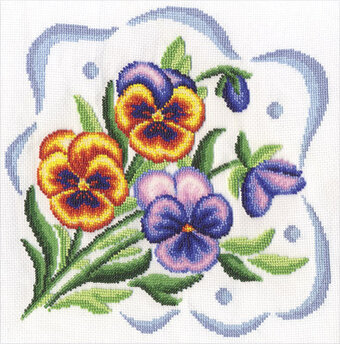 Never Forget Me - Cross Stitch Kit