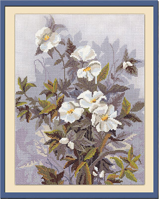 Silver Morning - Cross Stitch Kit