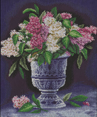 A Bunch of Lilacs - Cross Stitch Kit