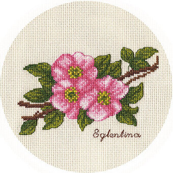 Wild Roses - Cross Stitch Kit