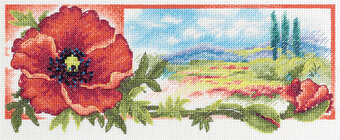 The Red Hue of Dawn - Cross Stitch Kit