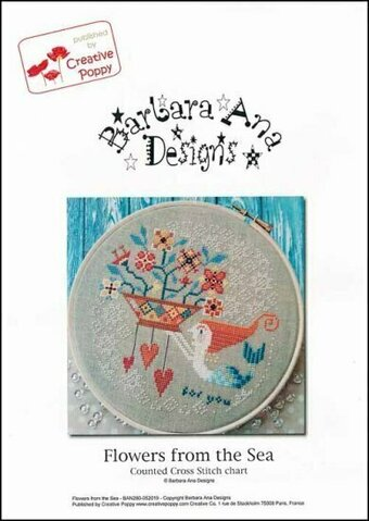 Flowers From The Sea - Cross Stitch Pattern