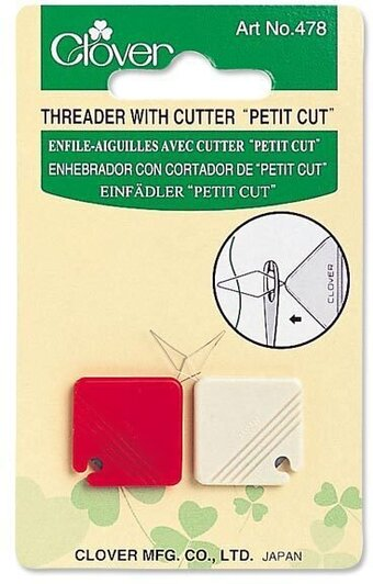 Petite Needle Threader And Cutter