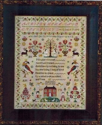 Snooty Parrots Sampler, The - Cross Stitch Pattern
