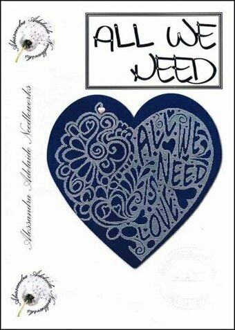 All We Need - Cross Stitch Pattern