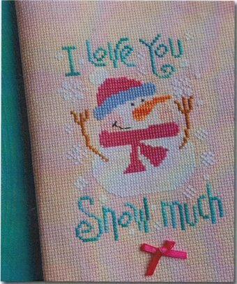 I Love You Snow Much - Cross Stitch Pattern