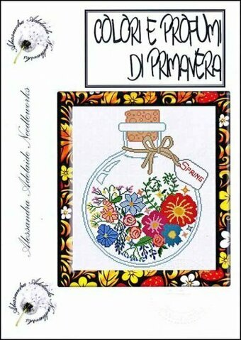 Colori E Profumi Di Primavera - Cross Stitch Pattern