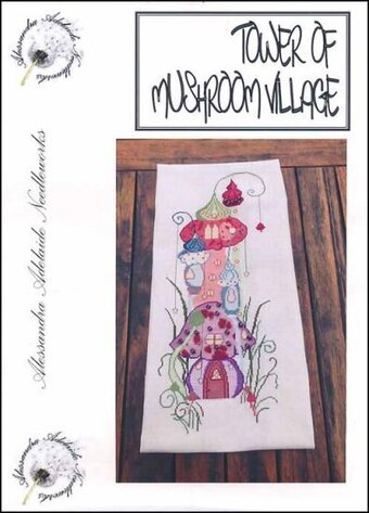Tower of Mushroom Village - Cross Stitch Pattern