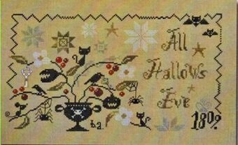 Wicked Plant, A (All Hallows Eve) - Cross Stitch Pattern