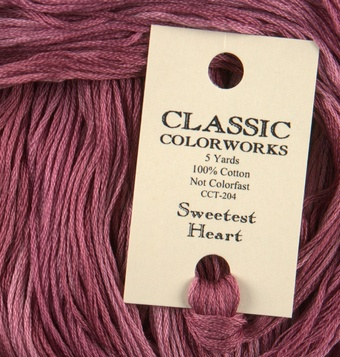 Sweetest Heart - Classic Colorworks Cotton Floss