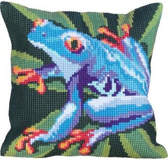 Celeste - Stamped Needlepoint Cushion Kit