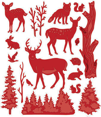 Sue Wilson Dies - Woodland Forest Animals