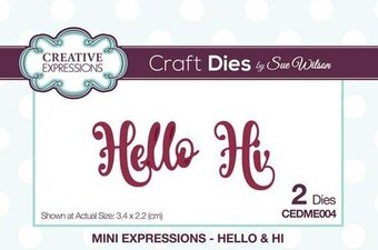 Sue Wilson Dies - Mini Expressions Hello and Hi