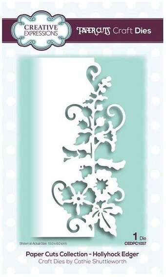 Creative Expressions Craft Die - Hollyhock Edger