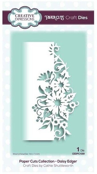 Creative Expressions Craft Die - Daisy Edger