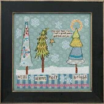 Still, Silent, Holy, Bright - Beaded Cross Stitch Kit