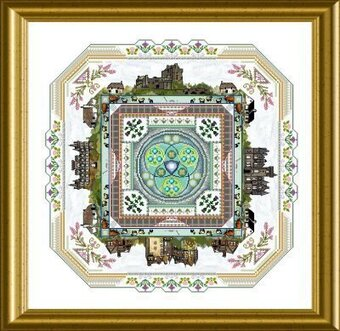 Scotland Mandala, The - Cross Stitch Pattern