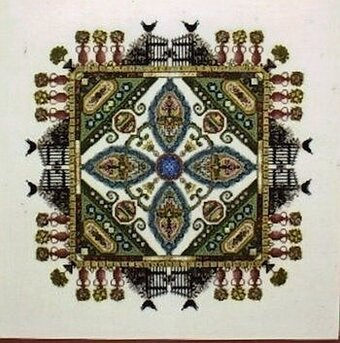 Knotgarden, The - Cross Stitch Pattern