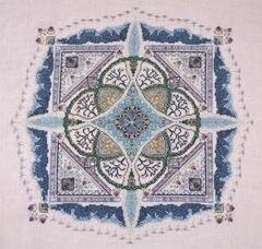 Frosty Knotgarden, The - Cross Stitch Pattern