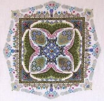 Summer Knotgarden, The - Cross Stitch Pattern