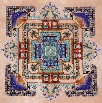 Egypt Garden - Cross Stitch Pattern