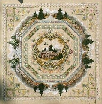 Alpine Seasons Garden - Cross Stitch Pattern