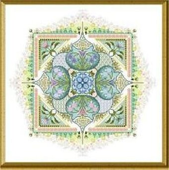 Spring Knotgarden, The - Cross Stitch Pattern