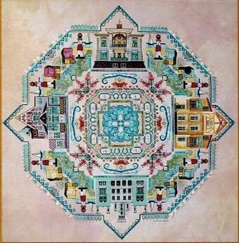 Baltic Sea Mandala (Ostsee), The - Cross Stitch Pattern