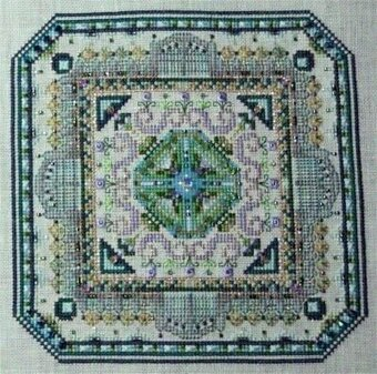 Mini Mandala Mystery 01 - Cross Stitch Pattern